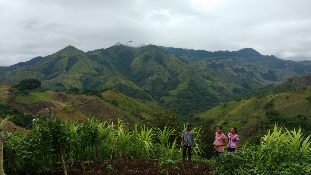 Trois stagiaires au Nicaragua